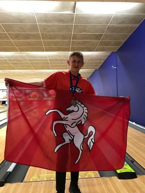 Lewis Wall Stars in County Ten-Pin Bowling Triumph