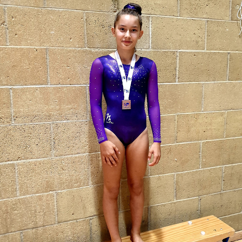 Success for Gaia Jennings in Gymnastics