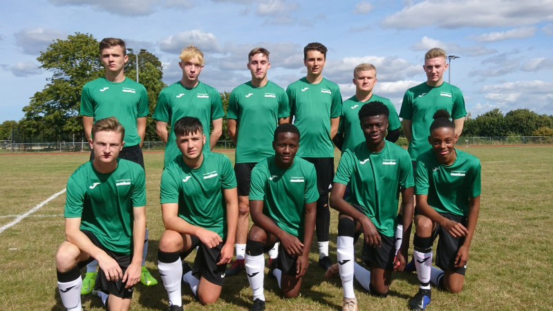 The Canterbury Academy 1st XI football side