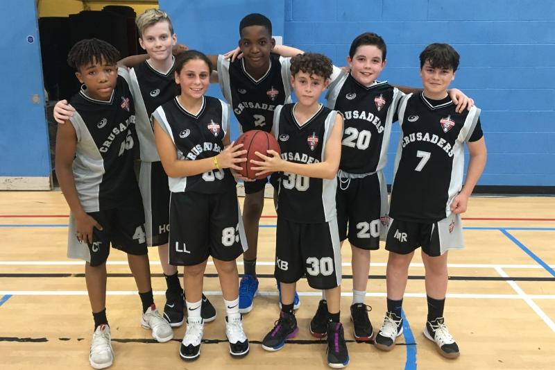 Year 8 Basketball team Sept 2019
