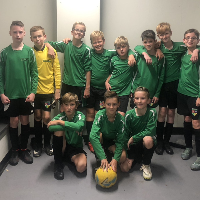 Year 7 boys Football team October 2019