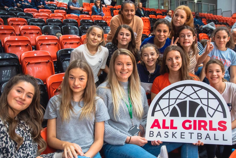 Women's British Basketball League trip