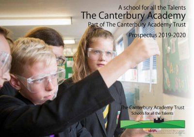 The Canterbury Academy High School Prospectus 2019-20