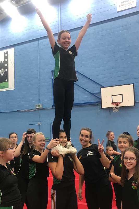 The Canterbury Academy  Cheerleading workshop