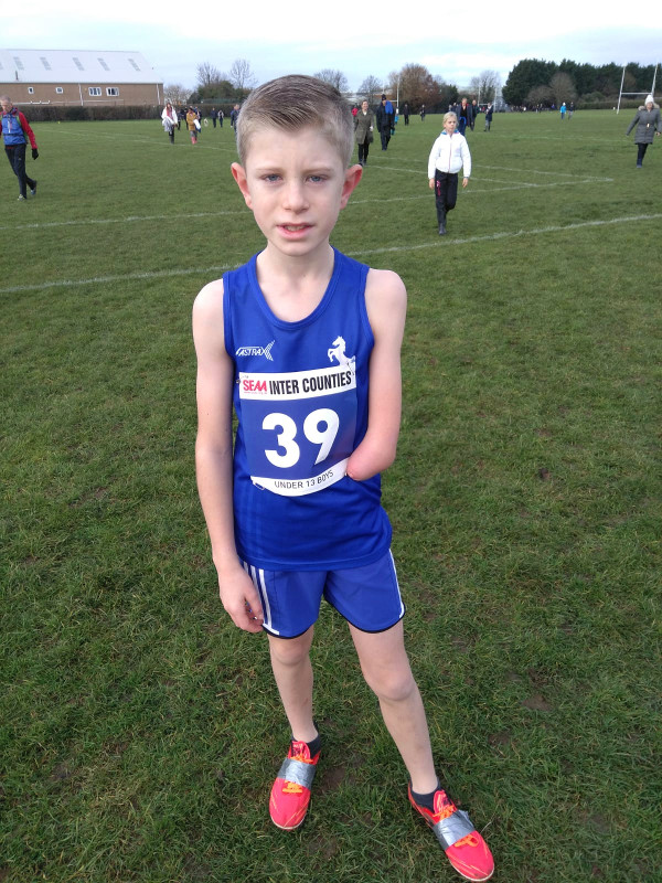 Impressive County Cross Country  Debut for Ollie Scott
