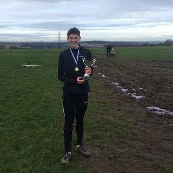 Jamie Kier U15 Cross Country