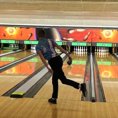 Lewis Wall 10 pin bowling