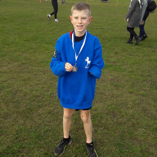 Ollie Scott U13s Cross Country