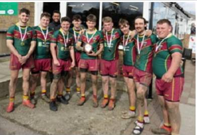 Sixth form rugby 7s success