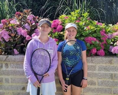 Ludovica Bartell and Ashleigh Hannah - Tennis