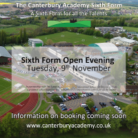 Sixth Form Open Evening 9 November 2021